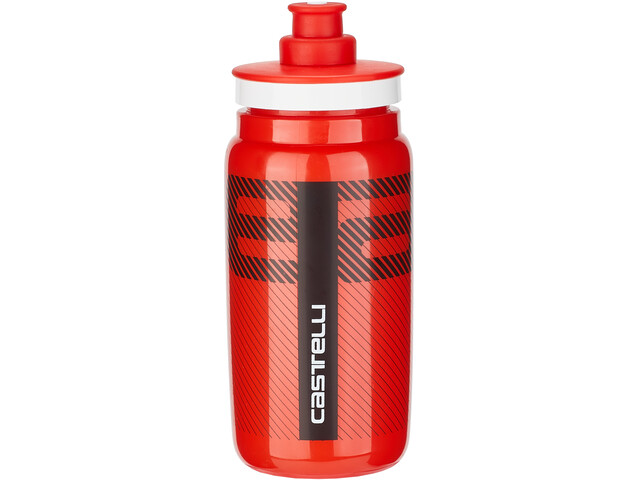 Castelli Water Bottle 550ml, red